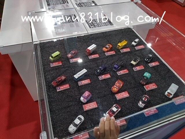 東京モーターショー2019のトミカ展示